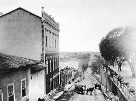 07 - ON 11 Ladeira do Carmo  em 1862, atual Av. Rangel Pestana