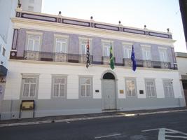 Hoje o edifício histórico onde se encontra o Museu Republicano é inteiramente aberto à visitação pública e conta com áreas de exposições - Tucano