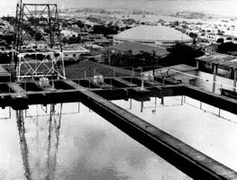 Água do Ribeirão Piraí, principal manancial de Salto, é tratada na Estação do Parque Bela Vista - A.I Prefeitura de Salto