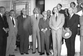Homenagem ao historiador Nardy no Museu Republicano em 1952 - Acervo do Museu Republicano