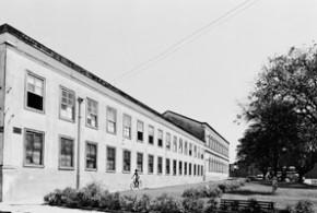 Fábrica São Luiz, inaugurada em 1910, foi o marco da industrialização de Itu - Arquivo Campo&Cidade