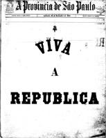 """Criado durante a Convenção Republicana, o jornal """"A Província de São Paulo"""" estampou na primeira página a Proclamação da República - Historiocracia"""