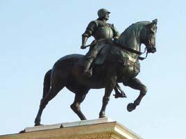 Verrocchio: estátua equestre de Bartolomeo Colleone, Veneza, Itália - Italian Wikipedia, 2006