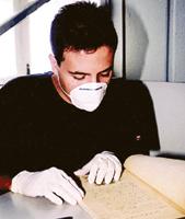 Quicoli passou a utilizar o acervo do Museu quando ainda cursava Direito - Tucano